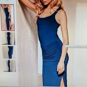 Victoria secret Rusched maxi dress